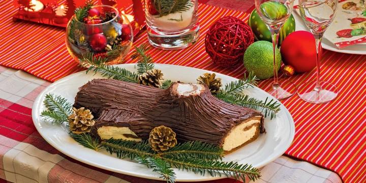 5блюдна столе в Рождество