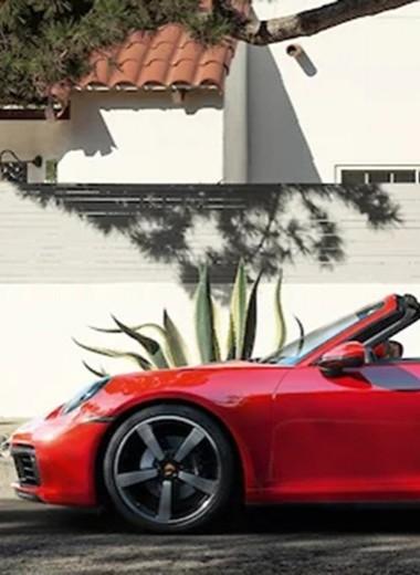 Porsche 911 Targa и Audi SQ8