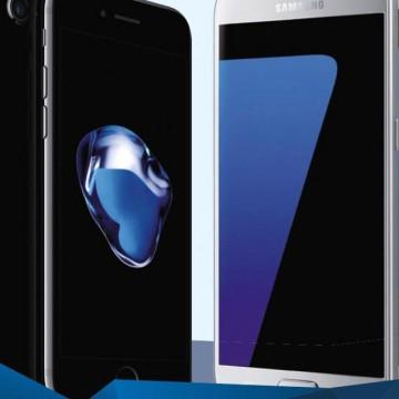 100-дневный тест: iPhone 7 vs Galaxy S7