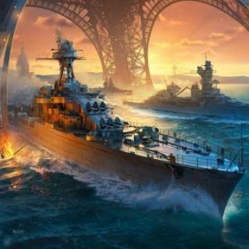 Французские корабли в World of Warships