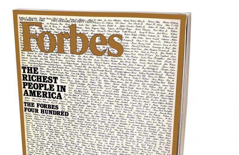 Forbes 400 в первый раз