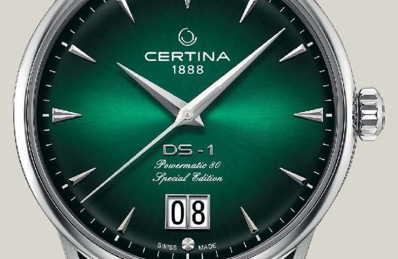 Часы: Certina DS-1 Big Date 60th Anniversary