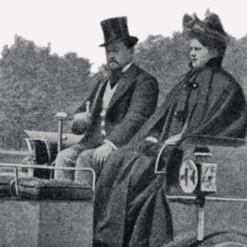 Английский электрокар в 1897 году