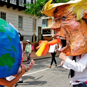 В режиме климат-конфликта