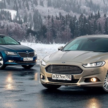 Skoda Superb против Ford Mondeo