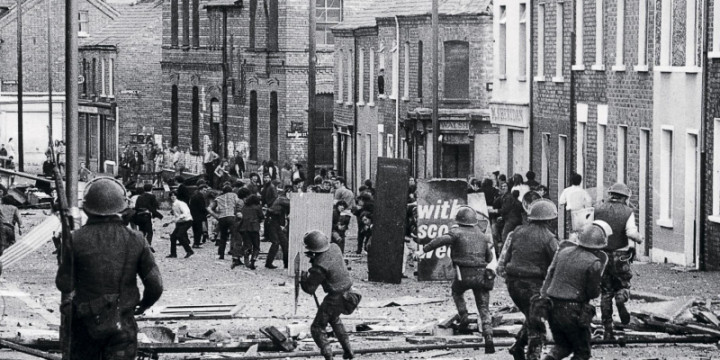 Операция «Деметриус» Северная Ирландия, Белфаст, 11 августа 1971 года