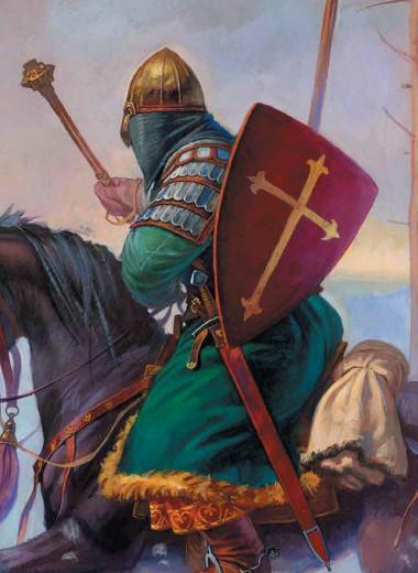 Русские воины на службе у Орды