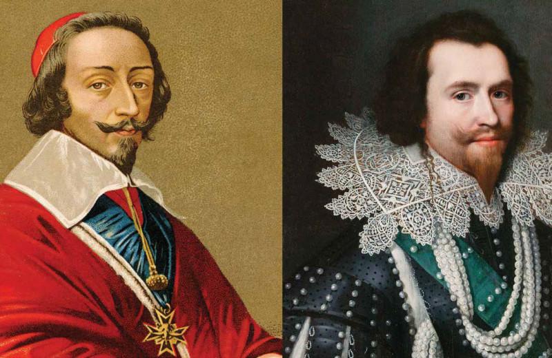 Два герцога: Ришельё против Бэкингема