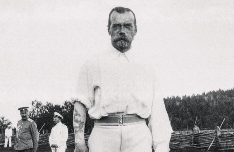 Николай II и его татуировка дракона