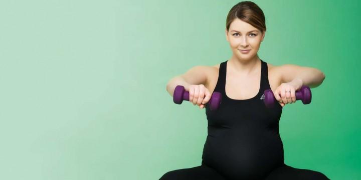 Тренировка для будущей мамы