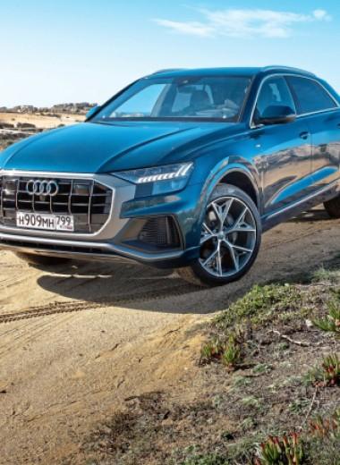 Audi Q8: Исполняющий обязанности