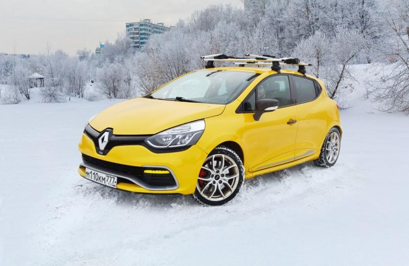 Renault Clio RS: Сильные эмоции