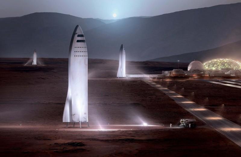Большая ракета Илона Маска