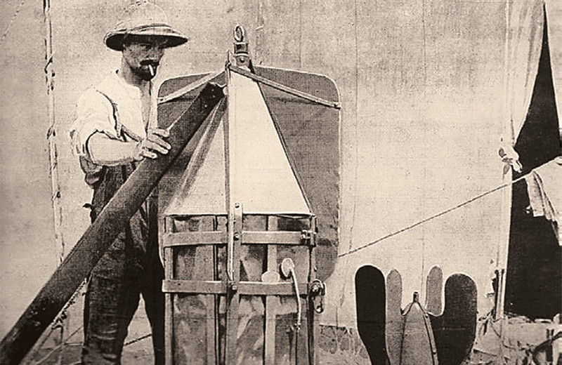 Наука и жизнь сто лет назад
