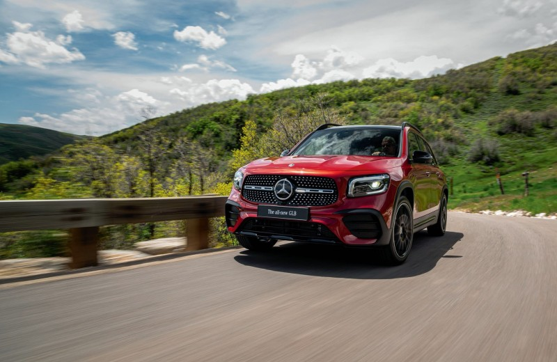 Без пробелов. Презентация нового Mercedes-Benz GLB