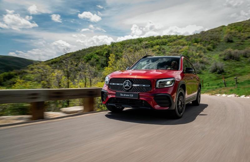 Без пробелов. Презентация нового Mercedes-Benz GLB