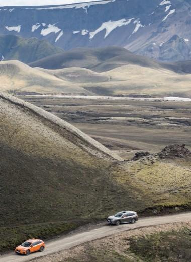 Subaru Forester в стране логреглана и хаукарля