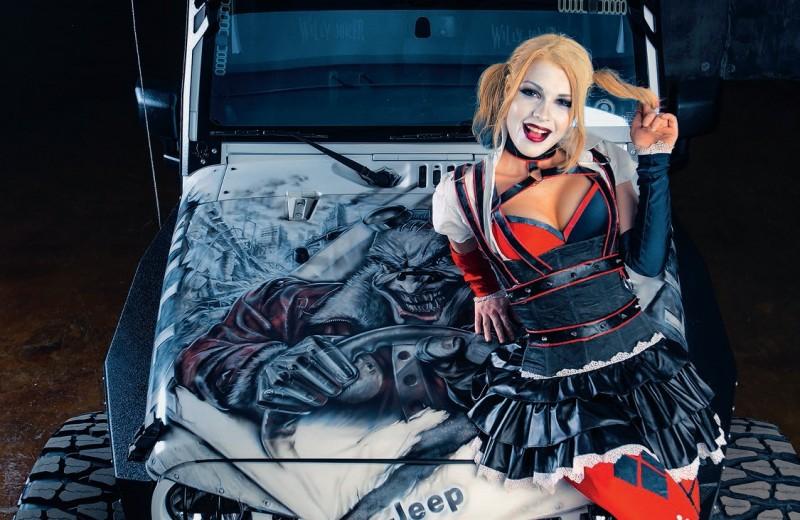 Jeep Wrangler. Вездеход для Джокера