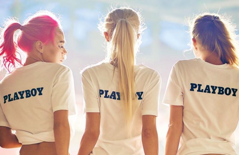 Сборная Playboy играет в «открытый» футбол!