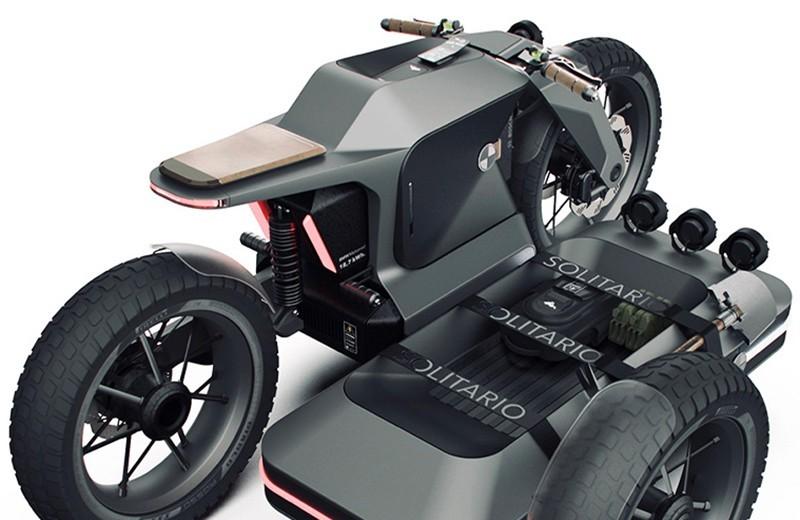 Концепт BMW Motorradвозвращает нам мотоциклы с коляской