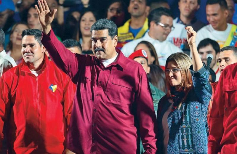 Венесуэльский автобус идет к обрыву