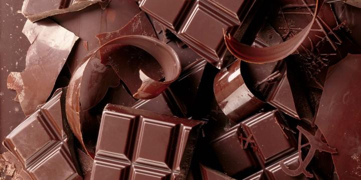 В шоколаде