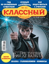 Классный журнал №21