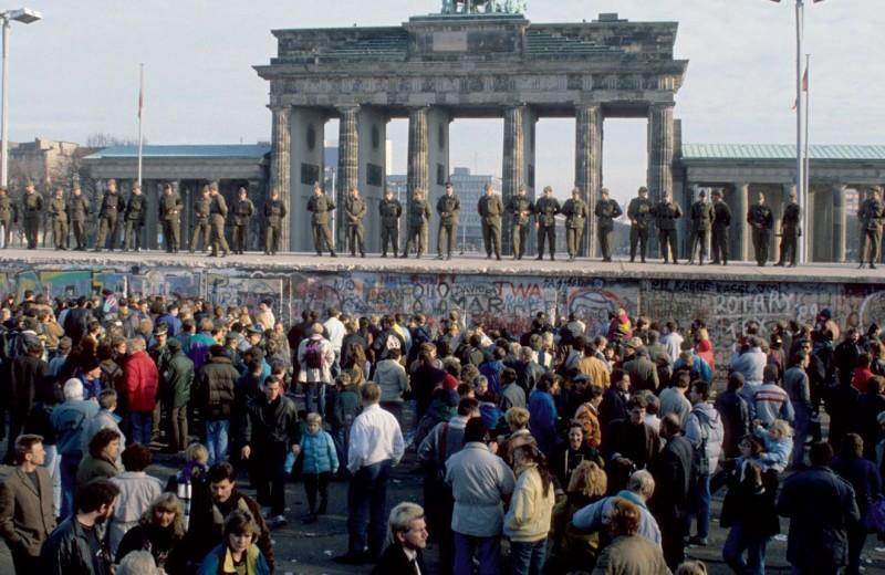 Падение стены и объединение Германии: действующие лица
