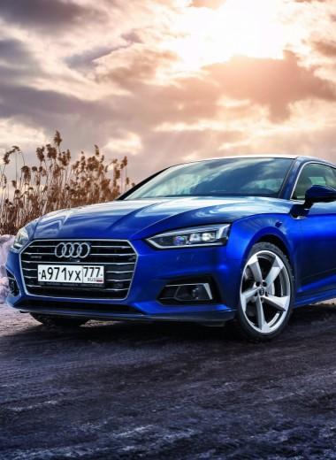 Audi A5. Не в своей тарелке