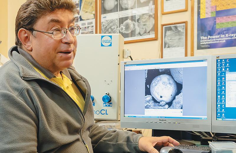 Микроскопические свидетельства глобальных катастроф