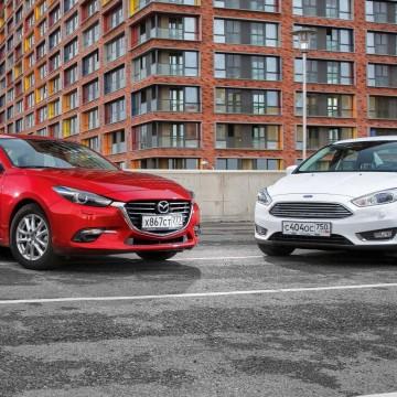 Mazda3 – Ford Focus