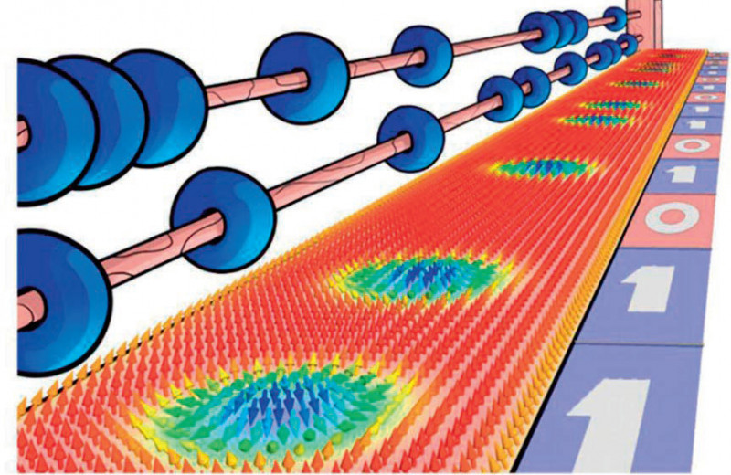 Физики научились управлять движением магнитных вихрей