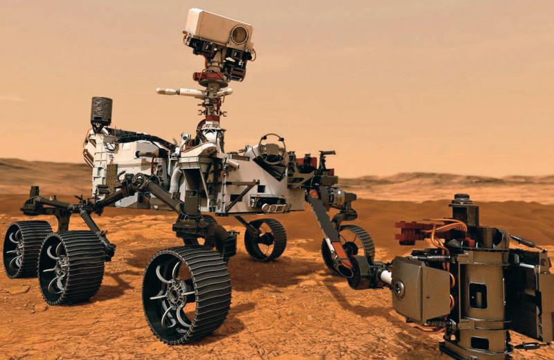 Марсианская настойчивость