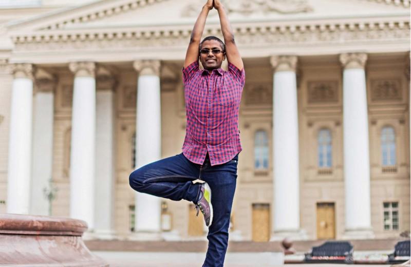 Акцент йоги