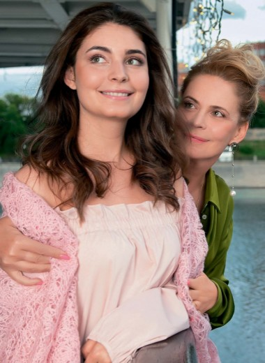 Алена Яковлева и Мария Козакова. Такие разные...