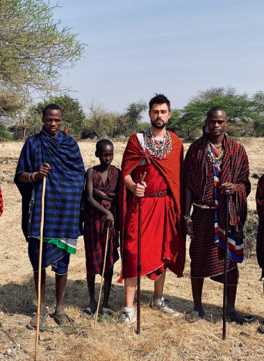 В Африку гулять!
