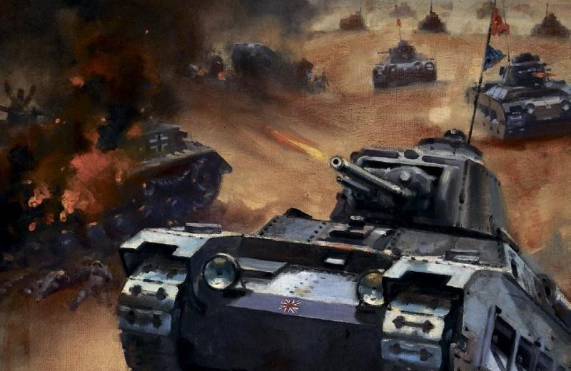 Единственный танк с женским именем