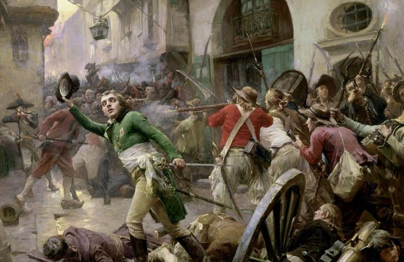 Вандейский мятеж. Анри де Ларошжаклен в битве при Шоле