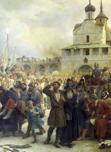 Защитники Свято-Троицкой Сергиевской лавры в 1608 году