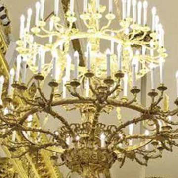 Семь люстр для Гербового зала