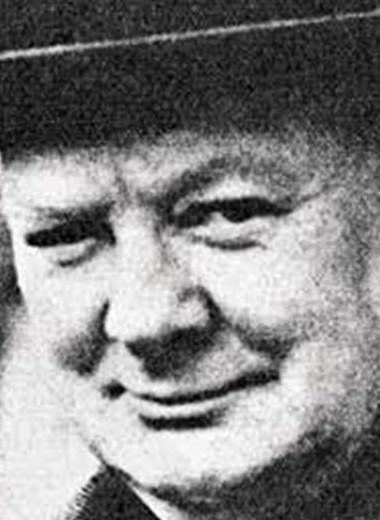Писатель Черчилль
