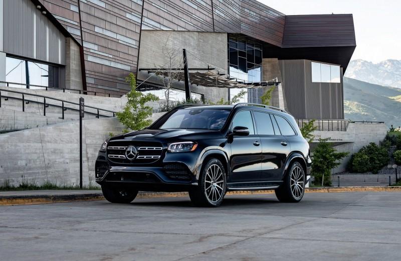 Высокая Архитектура. Новый Mercedes-Benz GLS