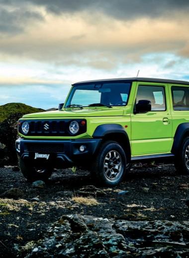 Новый Suzuki Jimny. Больше чем просто больше