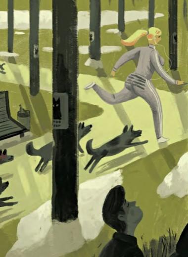 Как чувствовать себя уверенно во время прогулки с собакой