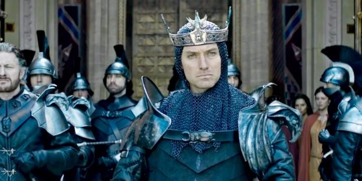 После финальных титров | Меч короля Артура