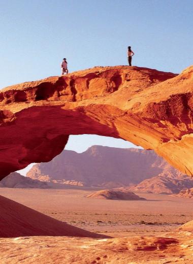 Иордания: 50 оттенков красного