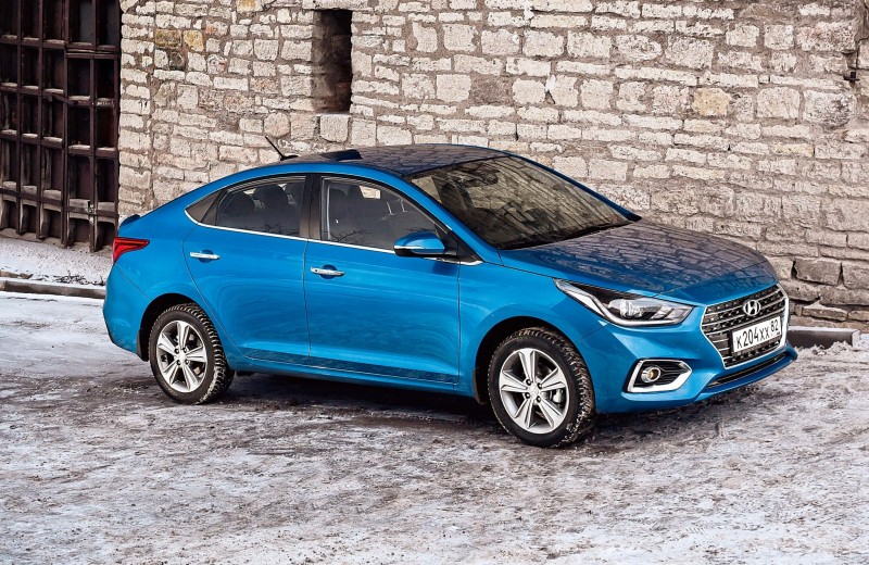 Hyundai Solaris: только не из такси