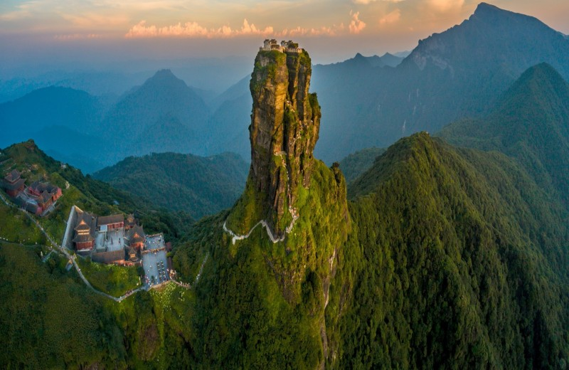 Фаньцзиншань, Китай