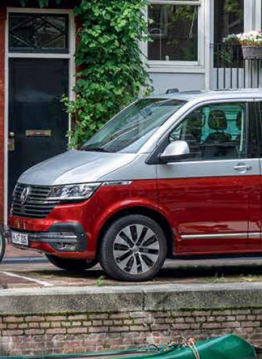 Volkswagen Multivan T6.1. Песня про сосиску