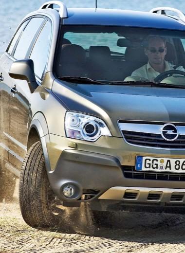 Opel Antara: наследство GM